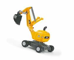 rolly toys CAT Construction Ride-On: 360-Degree Excavator/Sh