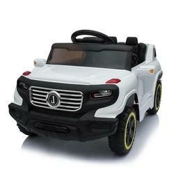 Safety Kids Ride on Car Toy Battery Power Music Wheels led L