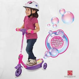SCOOTER ELECTRIC 3 WHEEL KIDS Ride On Children Bubbles Batte