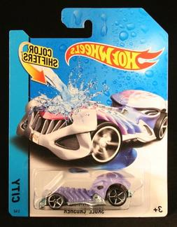 SKULL CRUSHER * COLOR SHIFTERS * 2014 Hot Wheels City Series