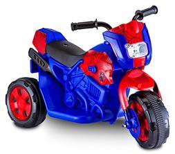 Kid Spiderman Electric Motorcycle Blue Bike Christmas Kids B