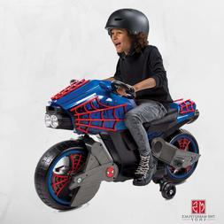 Spiderman Ride On Power Wheels For Boys Toy Motorcycle Kids