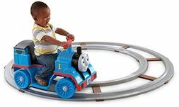 Power Wheels Thomas The Train With Track Whistle Kid Toddler