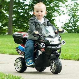 Toddler Boys Power Wheels Trikes Big Kids 6V Motorcycle 3 Wh