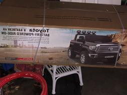 power wheels Toyota Tundra new With Parental Remote Control