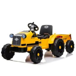 Toys Safety Kids Ride On Car Battery Power Wheels Tractor W/
