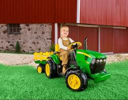 Tractors For Kids John Deere Electric Car To Ride On Battery