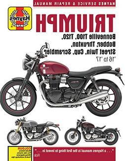 Triumph 900 & 1200, 16-'17: Covers models with water-cooled