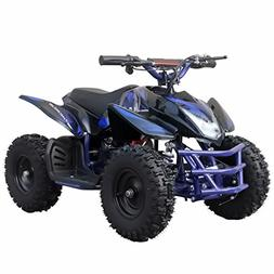 V-Fire TTN 350W 24V Electric Ride-On ATV for Kids, Blue