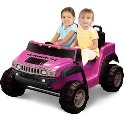 Kid Motorz Two-Seater Hummer H2 Girls\' 12-Volt B