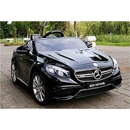 Ultimate Licensed 12v Mercedes S63 Battery Operated Ride on