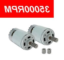 2 Pcs Universal 550 35000RPM Electric Motor RS550 12V Motor