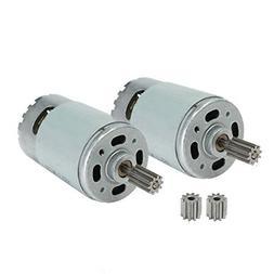 2 Pcs Universal 550 35000 RPM Electric Motor RS550 12V Motor
