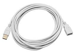 Monoprice 15-Feet USB 2.0 A Male to A Female Extension 28/24