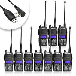 Baofeng 10PCS UV-5X Mate Handheld Two-way radio VHF136-174MH