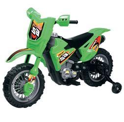 Boy's Vroom Rider VR098 Dirt Bike, Green