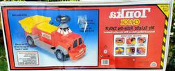 Vtg Tonka Power Wheels Talking Animated RideOn Construction