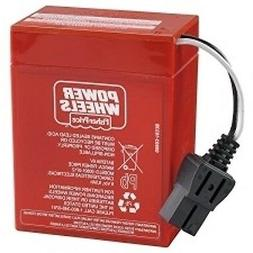 Power Wheels W0028 Military Jeep Replacement 6 Volt Recharge