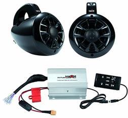 """waterproof 4"""" UTV / ATV marine speakers Bluetooth audio syst"""