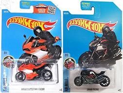 Hot Wheels Motorcycle Series Ducati Moto 2016 Cycle Set - Du