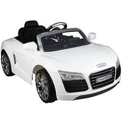 Costzon Ride On Car, Licensed Audi R8 Spyder, 12V Electric R