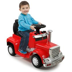 White Kids Ride On Car Electric Power Wheels  MP3 LED Light
