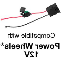Wire Harness Connector for Fisher-Price Power Wheels 12-Volt